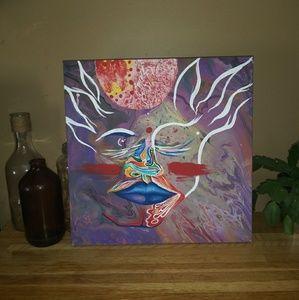 Tribal Divine Feminine Painting Abstract